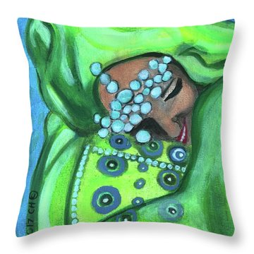 Secret Joy Throw Pillow