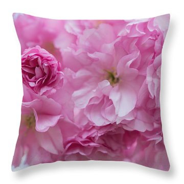Secret Life Of Flowers Throw Pillow