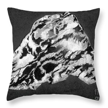Secret Mountain Throw Pillow