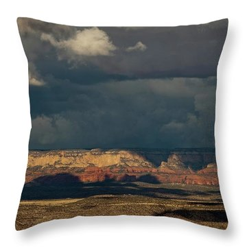 Secret Mountain Wilderness Storm Throw Pillow
