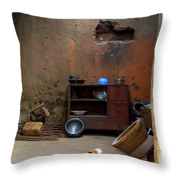 Secret Room Throw Pillow