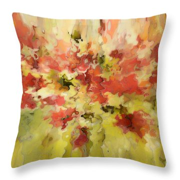 Secret Separation Throw Pillow by Mark Lawrence