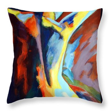 Secret Sources And Powers Throw Pillow