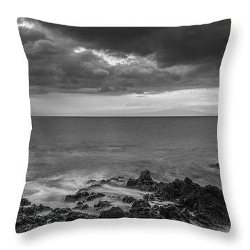 Secret Sun Throw Pillow by Jon Glaser