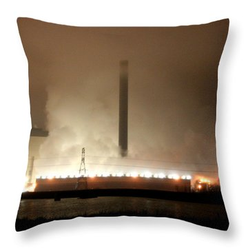 Secretly Warming The Globe While You Sleep Throw Pillow