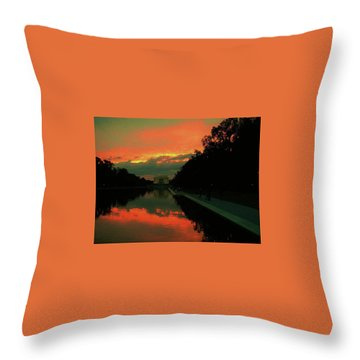 Secrets Of Dc Throw Pillow