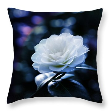 Secrets Of Nature Throw Pillow by Bernd Hau