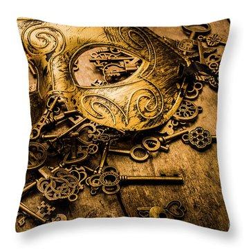 Secrets Of Rome Throw Pillow