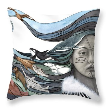Sedna Throw Pillow
