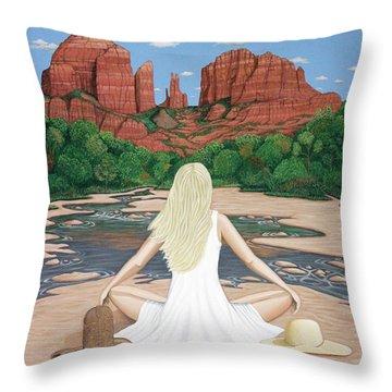 Sedona Breeze  Throw Pillow