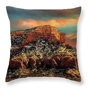 Sedona Dawn Throw Pillow