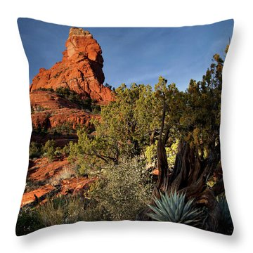 Sedona Desert Throw Pillow