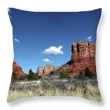 Sedona Desert Throw Pillow