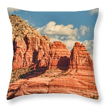 Sedona Formation Throw Pillow