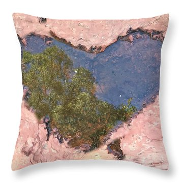 Sedona Love Throw Pillow