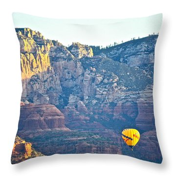 Sedona Morning  Throw Pillow