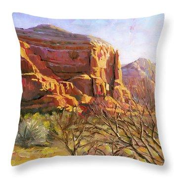 Sedona Morning Throw Pillow
