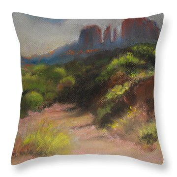 Sedona Pathway Throw Pillow