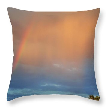 Sedona Rainbow 3 Throw Pillow