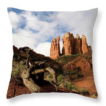 Sedona Red Rocks No. 01 Throw Pillow
