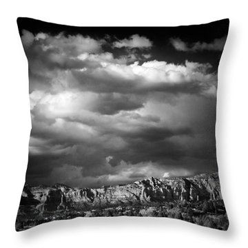 Sedona Storm Throw Pillow