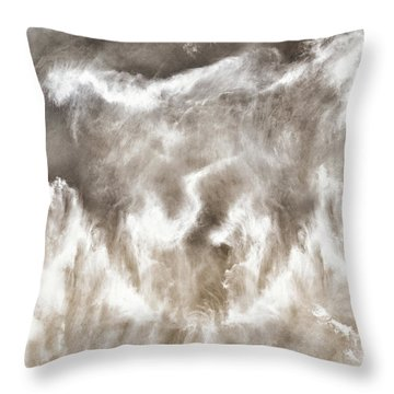 Seductive Seas Throw Pillow