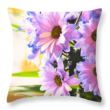 Seductive Sticks Throw Pillow