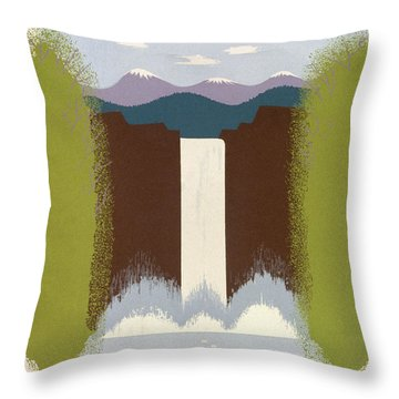 See America Poster, C1937 Throw Pillow by Granger