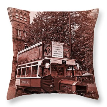 See Chester In Style Throw Pillow by Meirion Matthias
