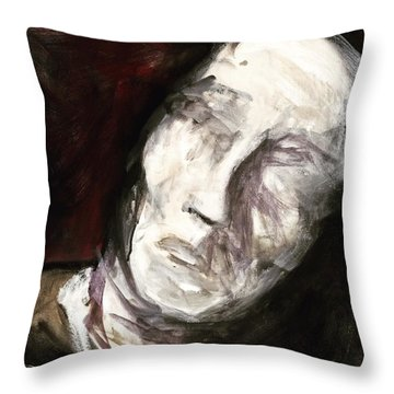 See No Evil Throw Pillow by Helen Syron