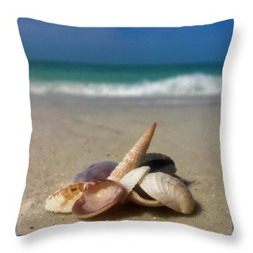 See Shells Throw Pillow