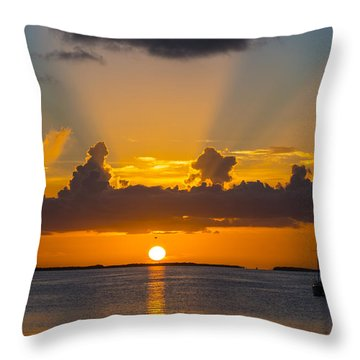 See The Light Throw Pillow