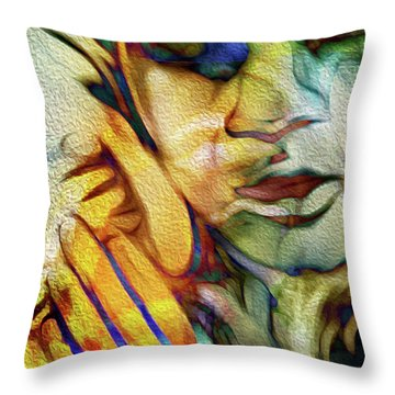 See The Music 2 Throw Pillow
