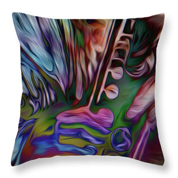 See The Music 3 Throw Pillow