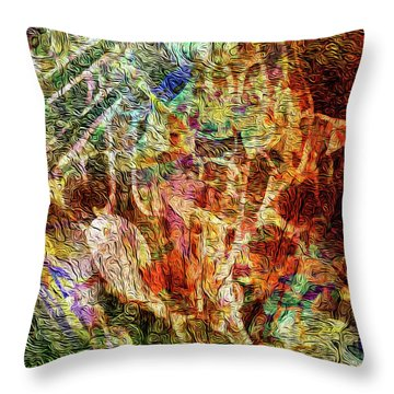 See The Music 4 Throw Pillow