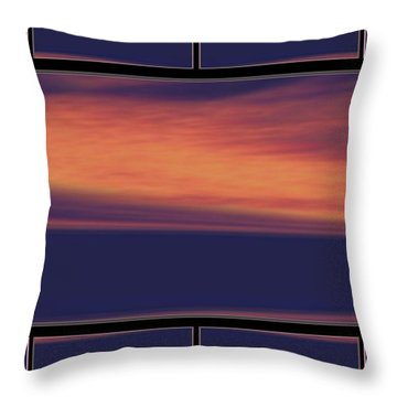 See The Sky Throw Pillow