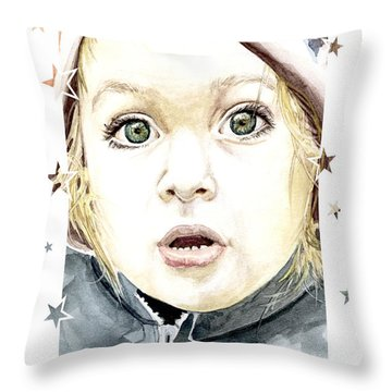 See The World Through My Eyes  Throw Pillow