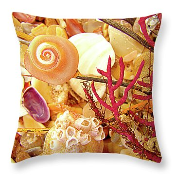 Throw Pillow featuring the photograph See World by Laura Brightwood