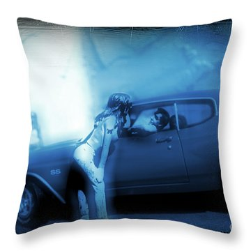 See You In My Dreams Throw Pillow