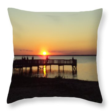 See You Tomorrow Throw Pillow