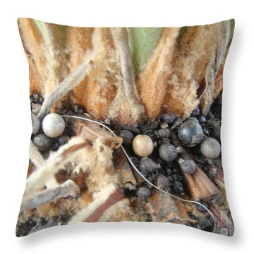 Seed Spot Throw Pillow by WaLdEmAr BoRrErO