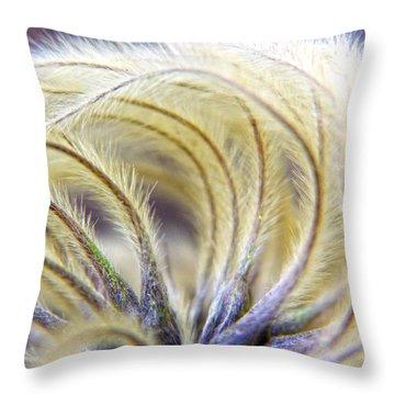 Seedheads Throw Pillow