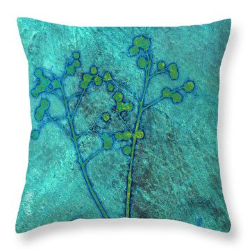 Seeds Throw Pillow by Ann Powell
