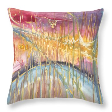 Seeds Of An Angel Throw Pillow
