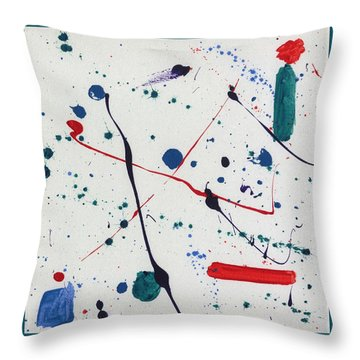 Seeds Of Miro Throw Pillow