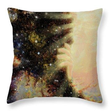 Seeing Beyond 2 Throw Pillow