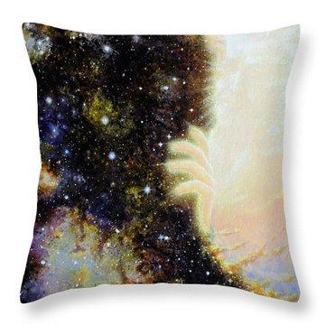 Seeing Beyond Throw Pillow
