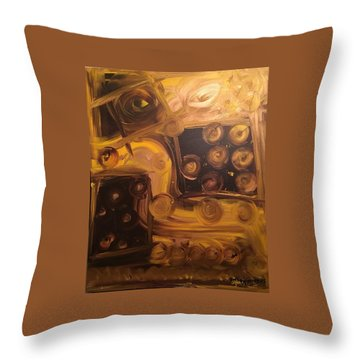 Seeing Into Space Throw Pillow