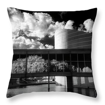 Seeing The Unseen Throw Pillow