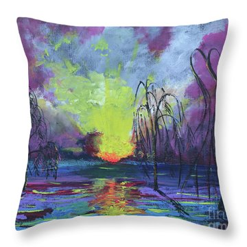 Seeing Through The Truth Throw Pillow